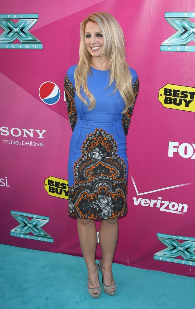 Britney Spears Premiere Party Pic