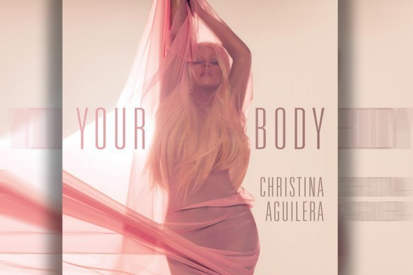 Christina Aguilera Single Art