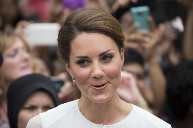 Kate Middleton Smirks