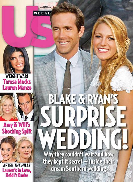 Ryan Reynolds, Blake Lively Wedding
