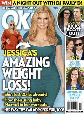 Jessica Simpson Losing Weight