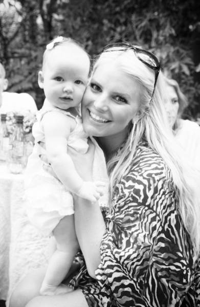 Jessica Simpson, Baby Photo