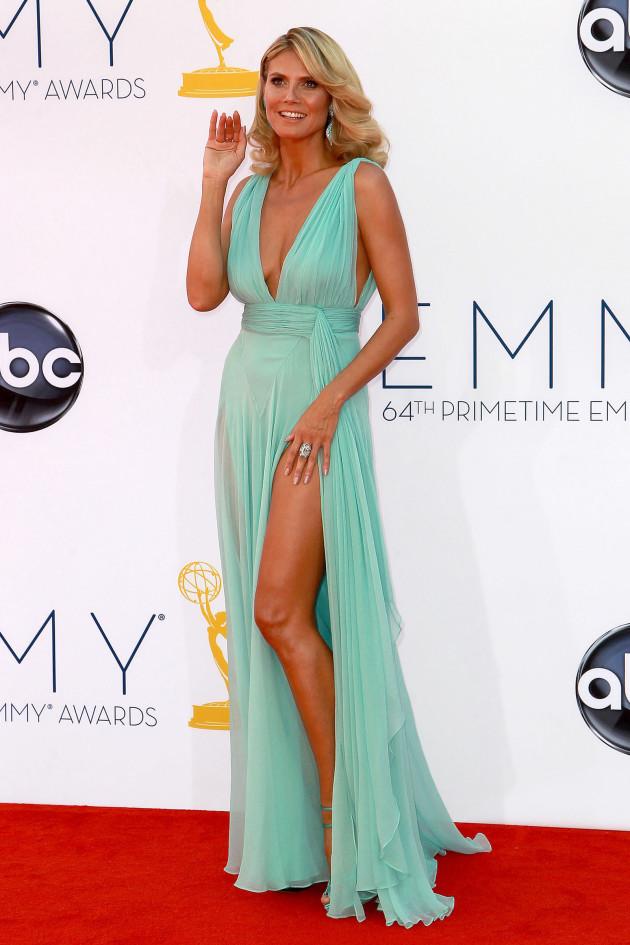 Heidi Klum Emmy Dress