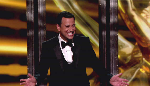 Jimmy Kimmel Emmy Pic