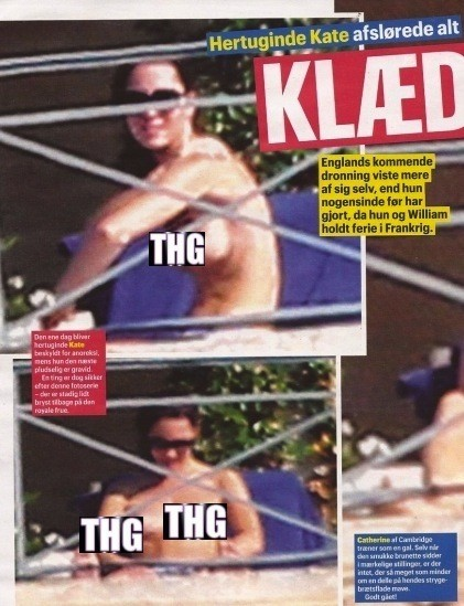 The Kate Middleton Topless Pics