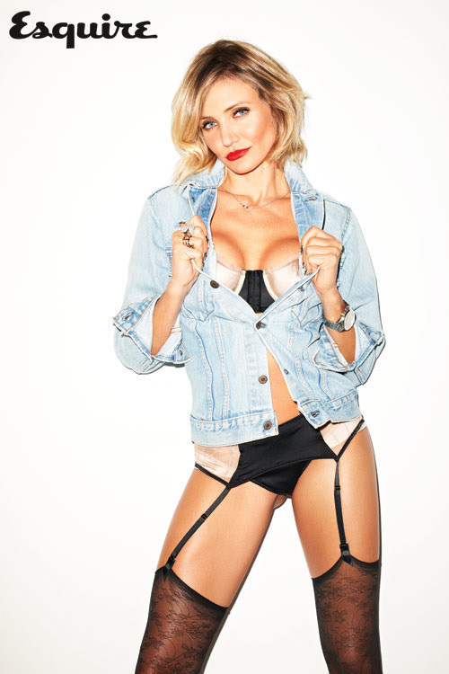 Cameron Diaz Cleavage Pic