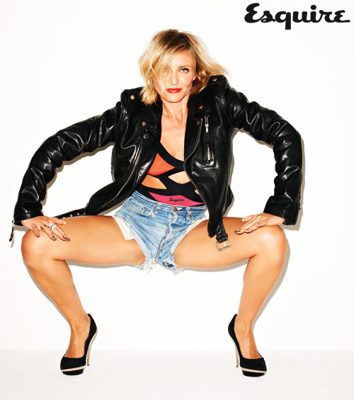 Cameron Diaz Esquire Photo