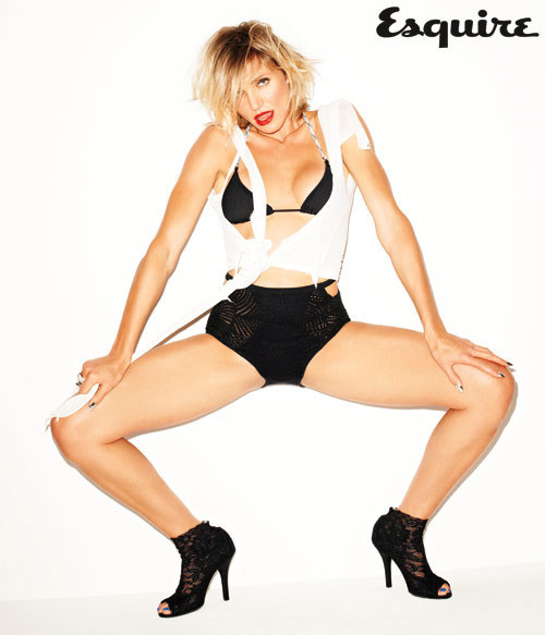 Cameron Diaz in Esquire