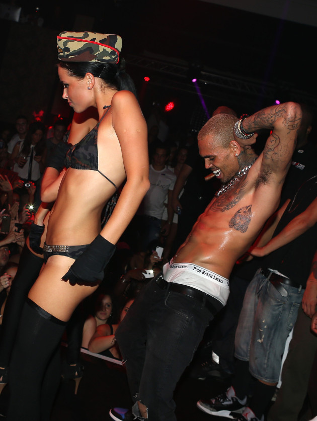 Chris Brown Grinding