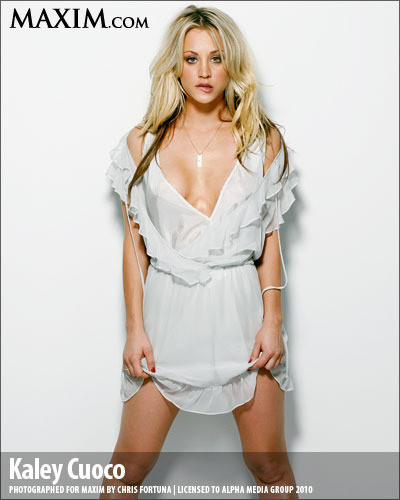 Kaley Cuoco in Maxim
