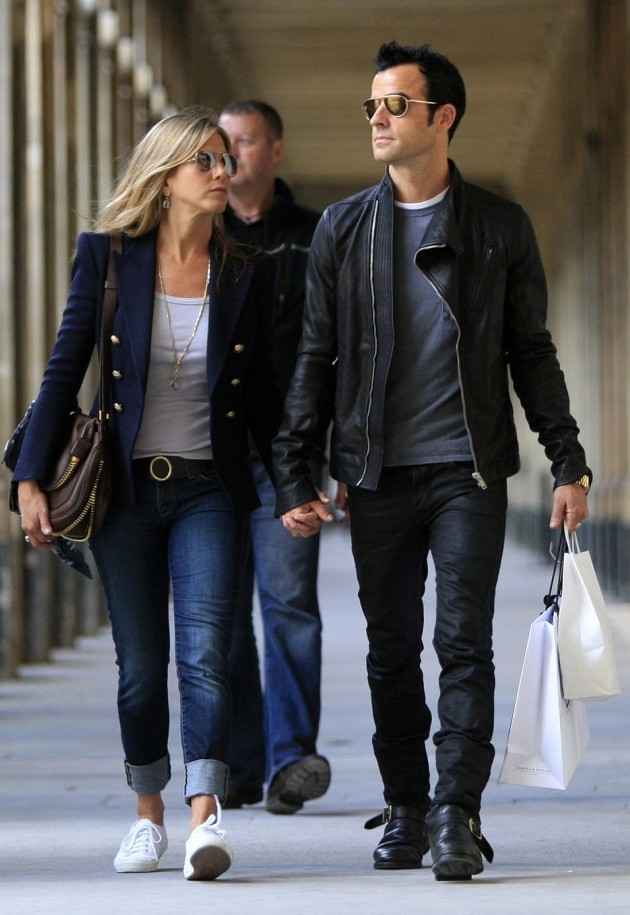 Justin Theroux and Jennifer Aniston Picture
