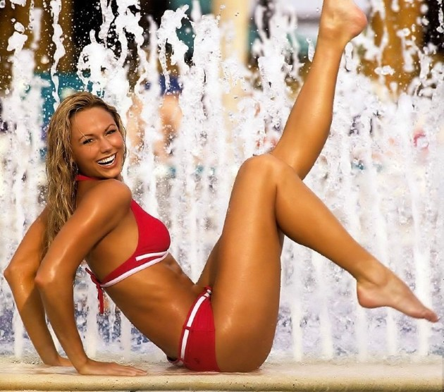 Stacy Keibler Bikini Pic