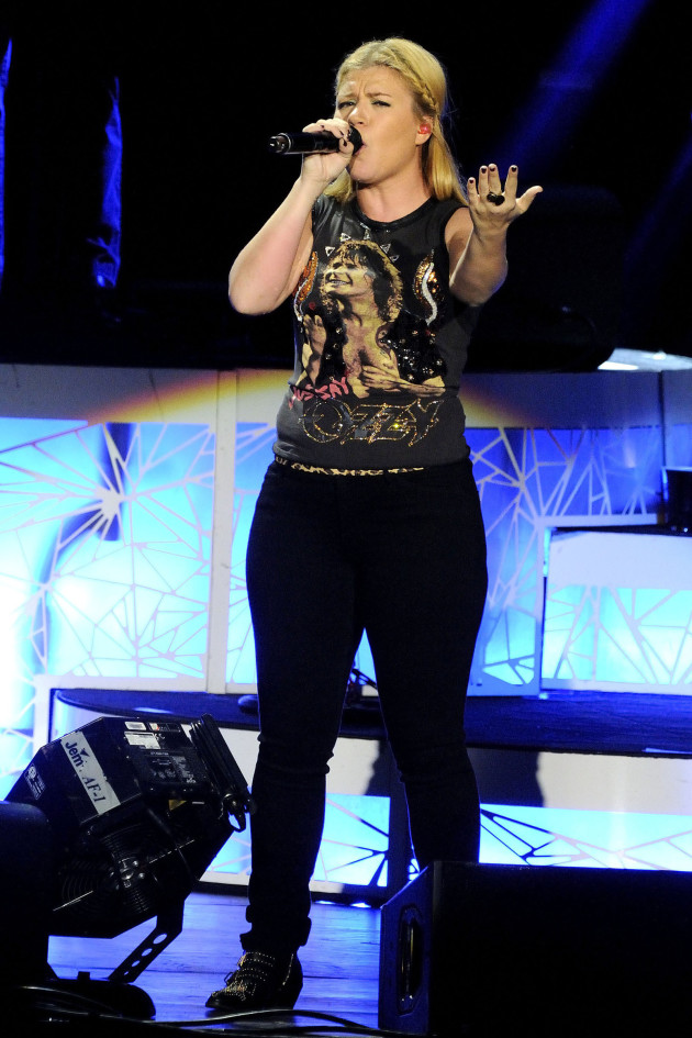Kelly Clarkson in Toronto