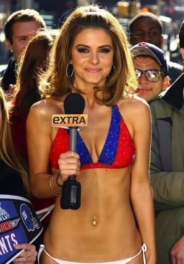 Maria Menounos, Bikini