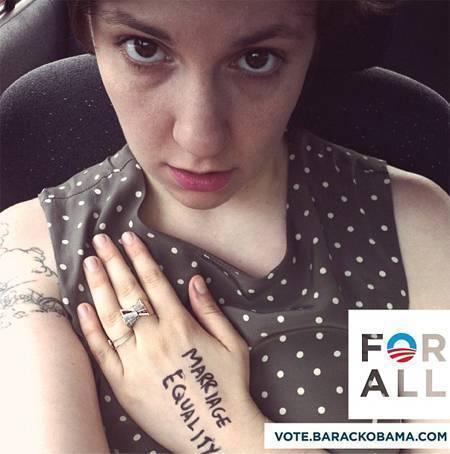 Lena Dunham Twit Pic