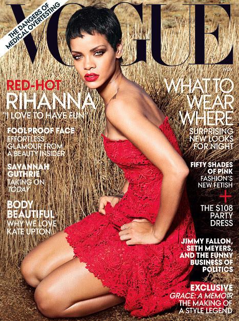 Rihanna Vogue Magazine Cover