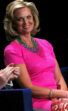 Ann Romney Pink Dress