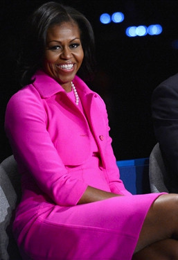 Michelle Obama in Pink