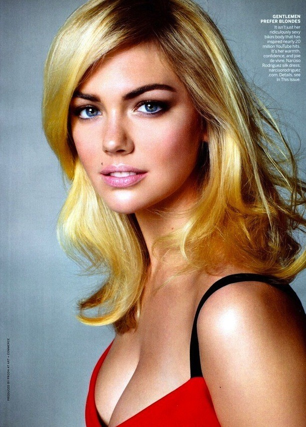 A Kate Upton Cleavage Pic