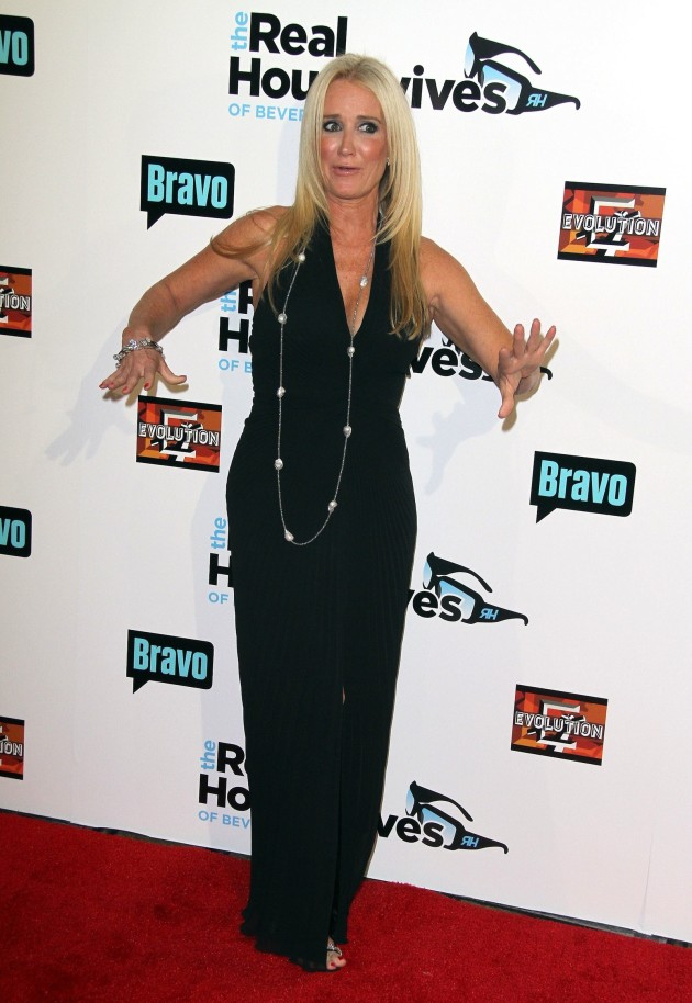 Kim Richards on the Red Carpet