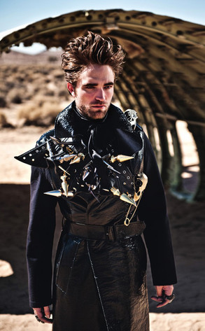 Robert Pattinson in Vogue Italia