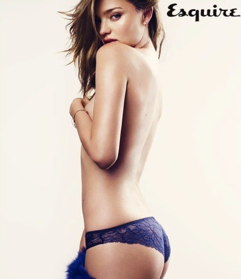 Miranda Kerr Topless in Esquire
