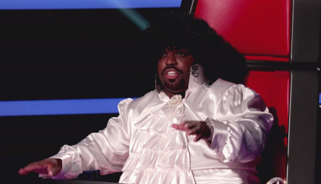 Cee Lo Green in a Wig