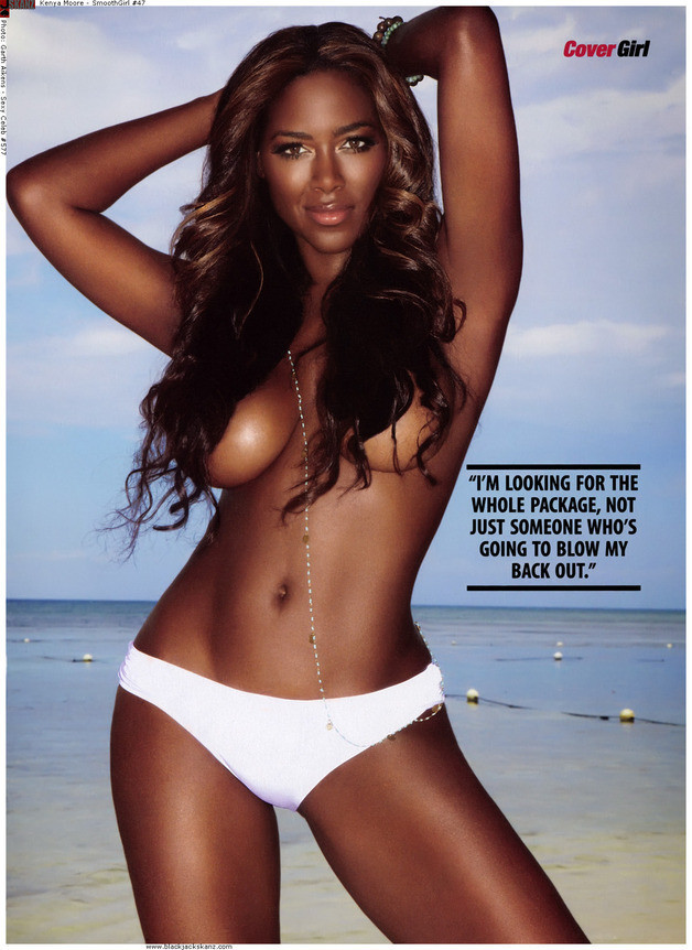 Kenya Moore Topless Picture