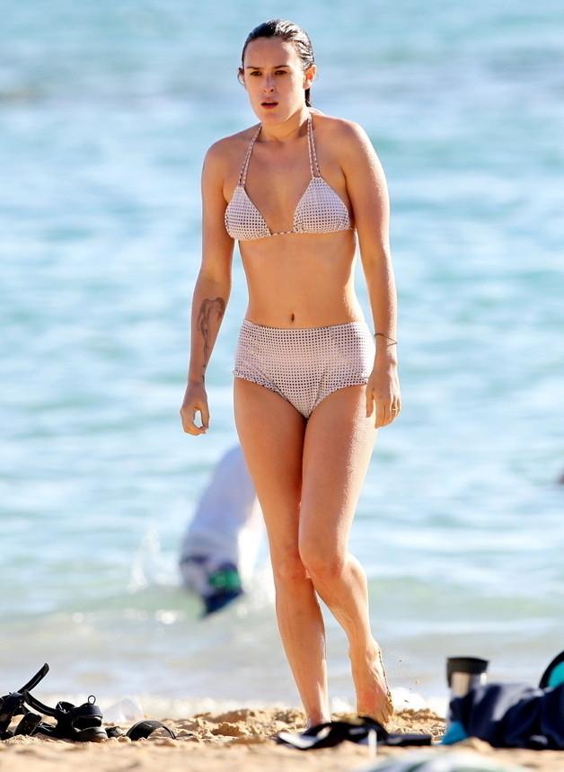 Rumer Willis Bikini Photo