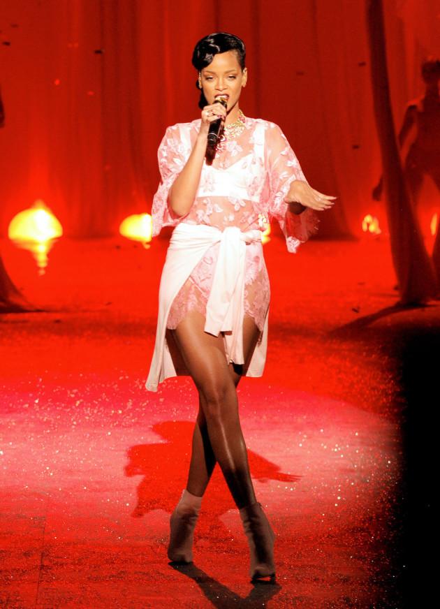 Rihanna on the Runway