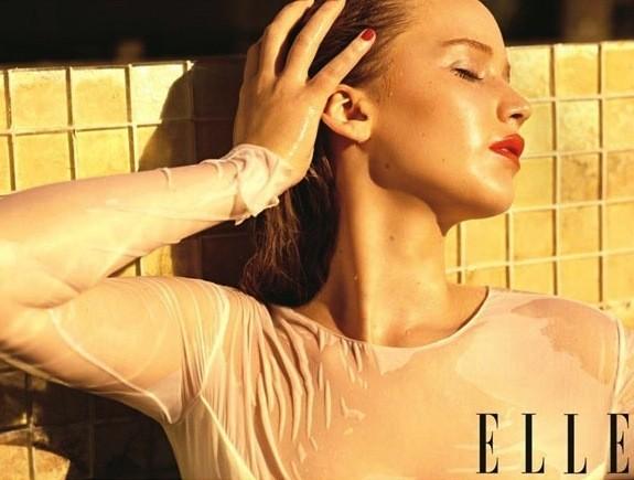 Jennifer Lawrence Elle Photo