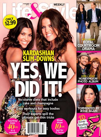 Khloe and Kourtney Did It!