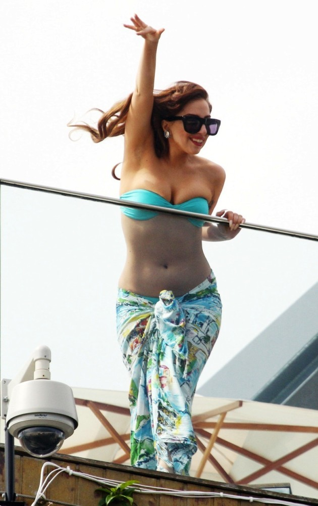 Lady Gaga Bikini Photo