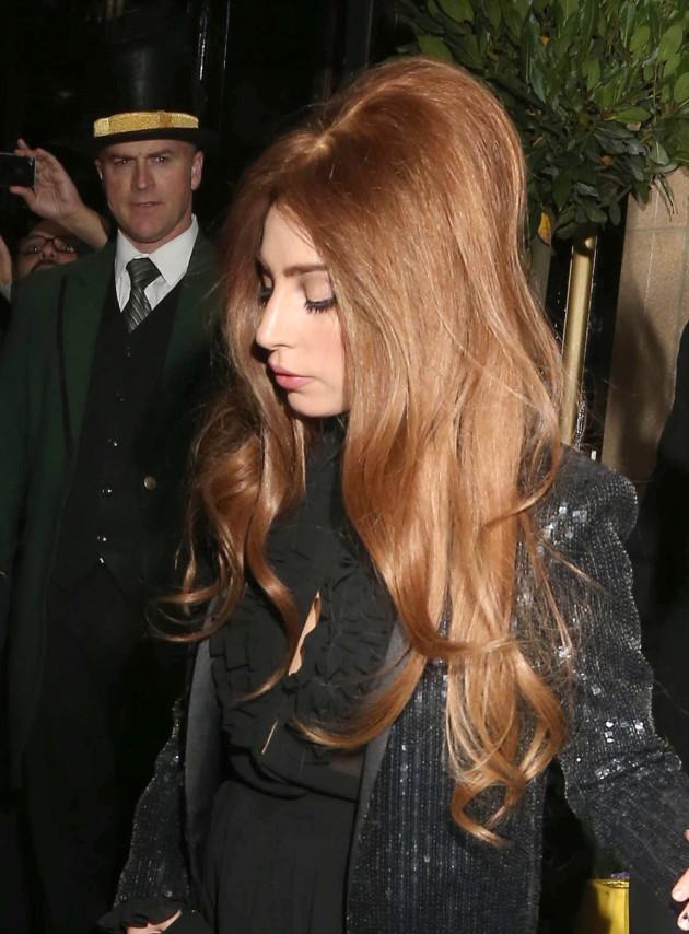 Lady Gaga, Long Hair