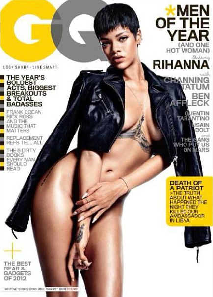 Rihanna Nude in GQ