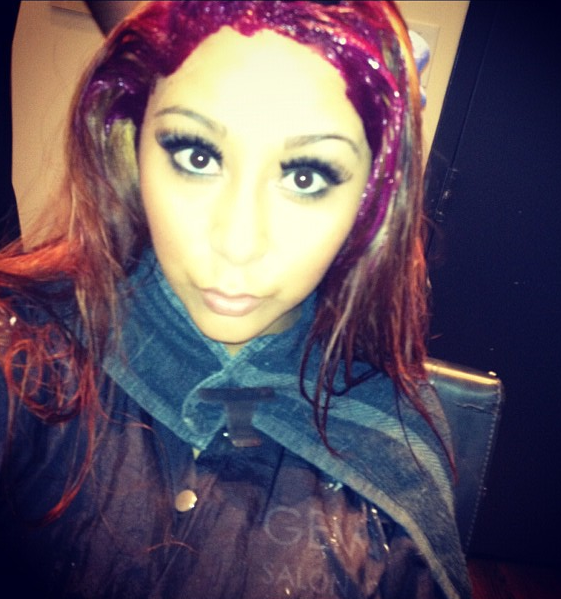 Snooki Red Hair Extensions 97