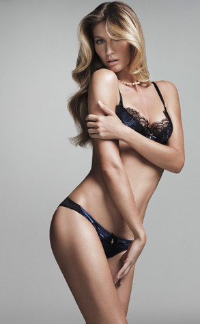 Gisele Bundchen Underwear Photo