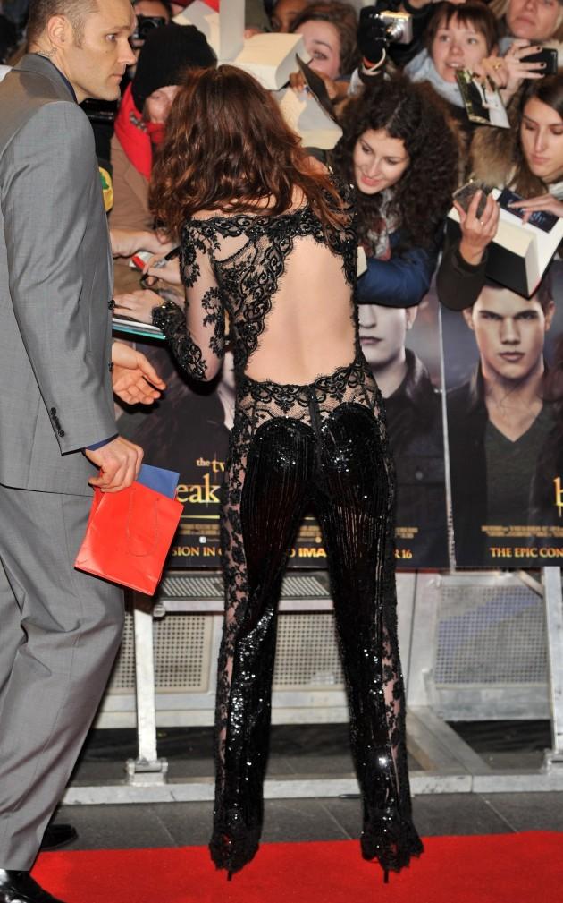 Kristen Stewart at UK Premiere