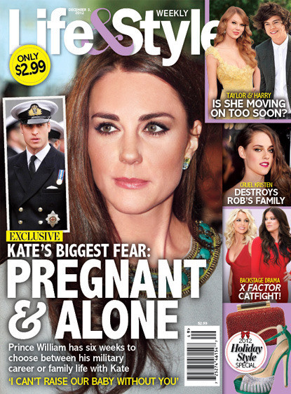 Kate Middleton Pregnant, Alone?