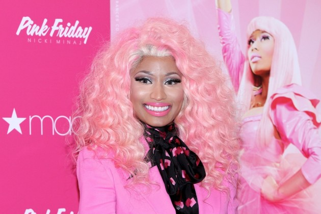 Nicki Minaj Pink Hair