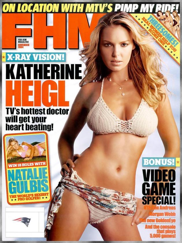 Katherine Heigl FHM Cover
