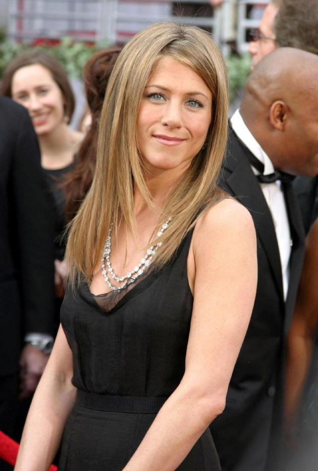 Jennifer Aniston Black Gown
