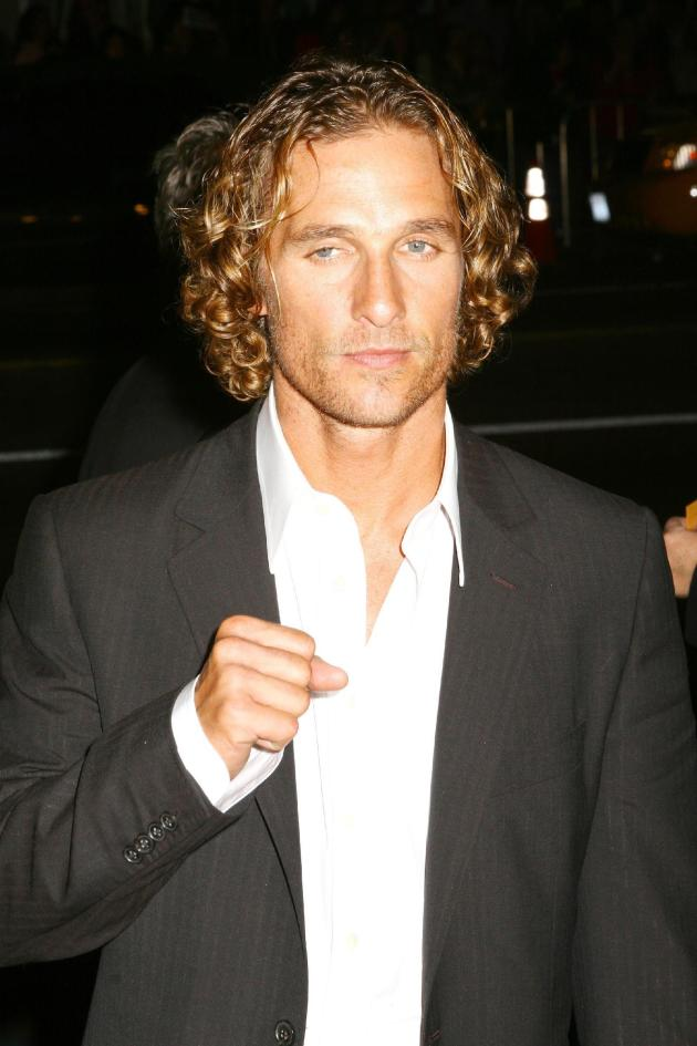 Matthew McConaughey Scruffy Looking