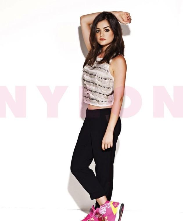 Lucy Hale Nylon Pic