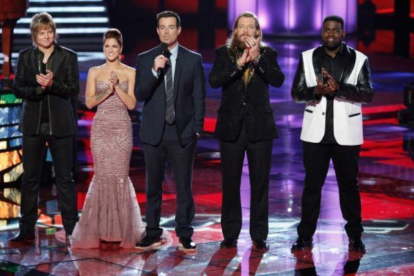 The Voice Top 4 Photo