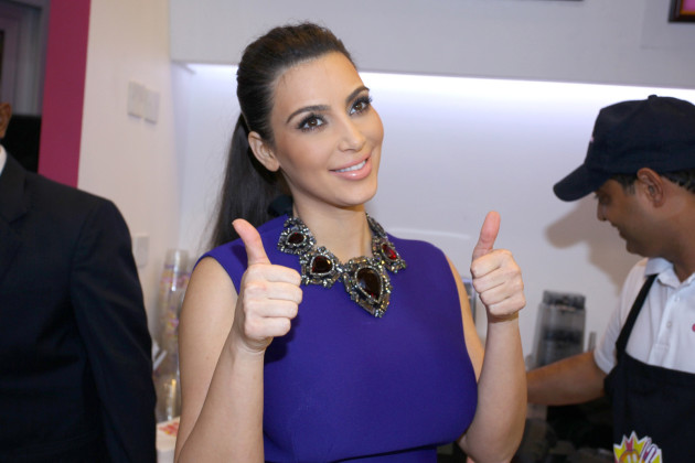 Thumbs Up, Kim Kardashian