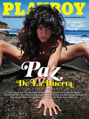Paz de la Huerta Playboy Cover