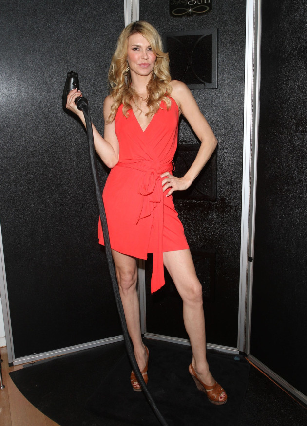 Brandi Glanville in Red