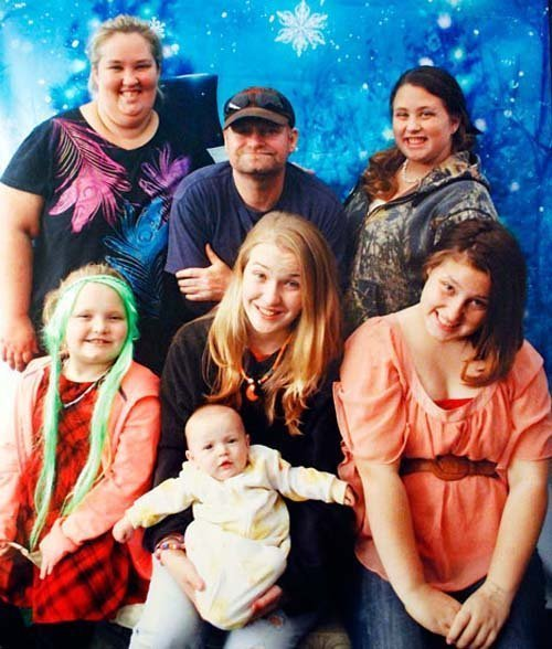 Honey Boo Boo Christmas Card