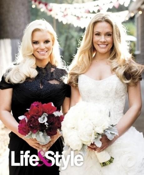 Cacee Cobb and Jessica Simpson Photo